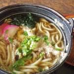 大橋食堂 - 料理写真:なべ焼うどん[\780]