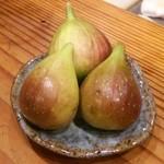 分田上 - 自家栽培の無花果