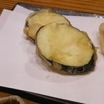 分田上 - 茄の天麩羅