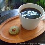 コチト - ホットコーヒー cotico ブレンド(550円)※クッキー付き