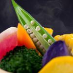 蔭山樓  - 蒸し野菜