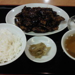 30433904 - なす味噌定食です。