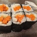 写楽 - お寿司の最後は山牛蒡〜