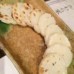 たわら家 - 山芋塩焼き