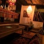 エクソダス - 個室風掘りごたつテーブル
