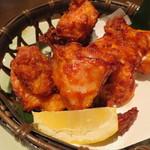 龍馬 軍鶏農場 - 軍鶏唐揚げ(\680-)
