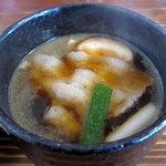 うどん利平 - 肉汁