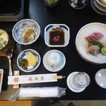 伊豆の踊り子の宿 福田家 - 料理写真:初めの夕食膳