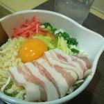 道とん堀 - お昼の豚玉