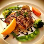 くすの木 - ランチセット  白身魚のグリル