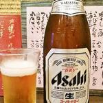 30444670 - 瓶ビール中瓶450円(税別)