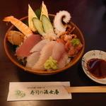 寿司の海女屋 - 料理写真:ランチのチラシ寿し