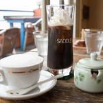 サドルバック - カプチーノとアイスウィンナコーヒー