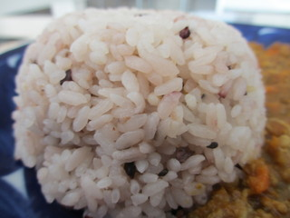 リリーズ - 雑穀米アップ