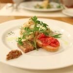 オステリア オルカドーロ - 料理写真:前菜の盛り合わせ☆