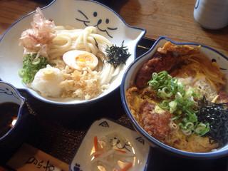 のらや 三軒茶屋店 - カツ丼セット  1058円