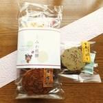 みわせんべい - 料理写真:みっくす袋(4袋)400円+玄米ごぼう(小)100円 計500円