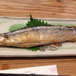 馳走屋 菜乃花 - 秋刀魚