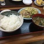 30447506 - (2014/09/01)叉焼定食