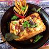 ウッディーキャロット アンド モモコハウス - 料理写真:ピザトースト(♡ >ω< ♡)