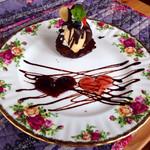 ウッディーキャロット アンド モモコハウス - 甘〜い♪生チョコケーキ
