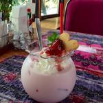 ウッディーキャロット アンド モモコハウス - イチゴミルク♪