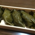 桜味堂 - 料理写真:桜葉餅