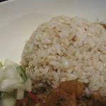 30448686 - 雑穀米とアチャール。