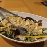 30448921 - まずは、豆腐のヘルシーサラダ