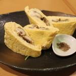 和輝 - 穴子の卵巻き