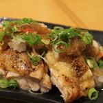 和輝 - 若鶏もも焼きおろしポン酢