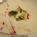 ラルテ沢藤 - 3種の前菜盛り合わせ