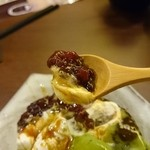 山内農場 - あんことアイスクリーム。リフト(^-^)/
