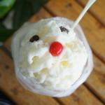 ミルクハウス - 料理写真:しろくま(450円)