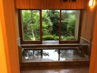 料亭旅館 いちい亭 - 共用の小風呂 食前のひと風呂