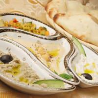 パルミラ - ナスや豆などを使ったペースト各種、ヘルシーでやさしい味です
