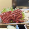 七福 - 料理写真:馬刺し