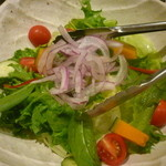 馳走家 とり壱 - 新鮮野菜もりもりサラダ