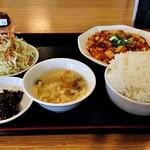 満天香 - 料理写真:麻婆豆腐定食 650円