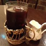 カフェ シャンソニエ アコリット - アイスコーヒー