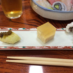 双葉寿司 - 先付け