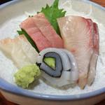 双葉寿司 - お造り盛合せ