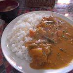 ディービーズ キッチン - ランチタイムカレーライス(野菜)[500円]