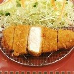 ポルコ亭 - 料理写真:ロース特厚定食(200g)