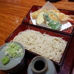 天ぷら 左膳 - 【天せいろ(特大海老) ¥1,380】