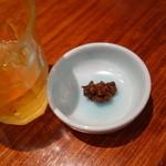 天ぷら 左膳 - 【蕎麦茶と蕎麦味噌】