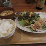 なか川 - 棒棒鶏定食