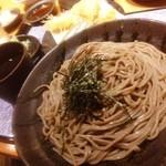 つけ蕎麦 安土 - 昨日の締めは、ザル蕎麦と魚介串など!(^ー^)ノここのお蕎麦が大好きでして(^◇^