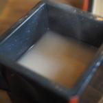 そば処みやさか - 蕎麦湯