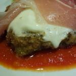 Storia - 牛ハラミ肉のボローニャ風カツレツ